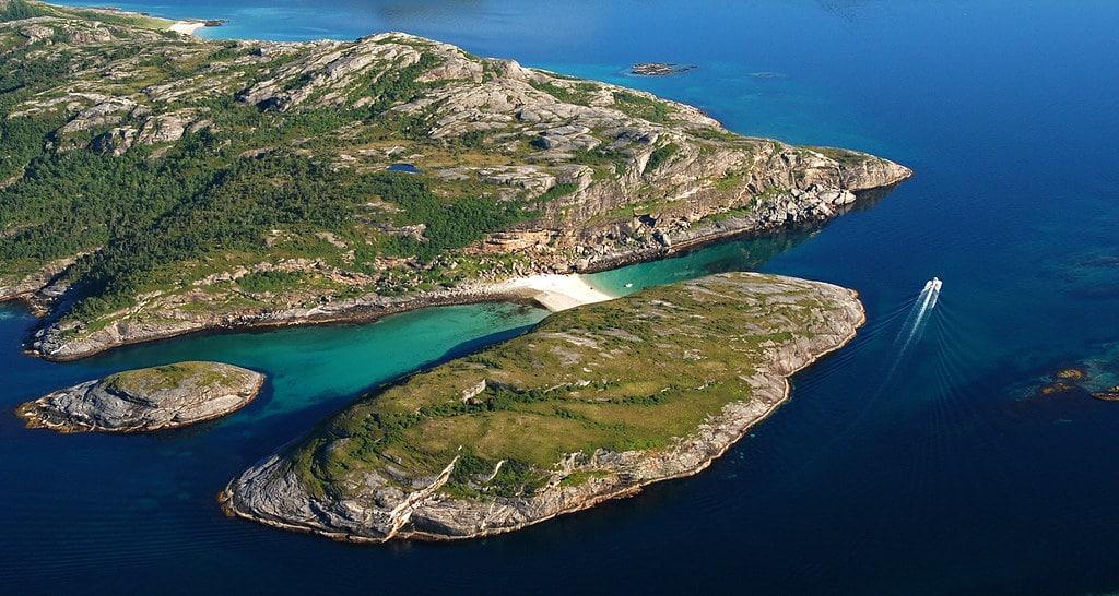 Hovdsundet w Norwegii