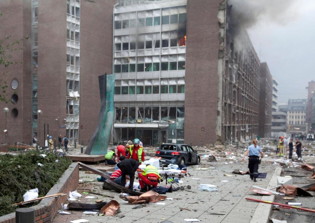atak Breivika w Oslo