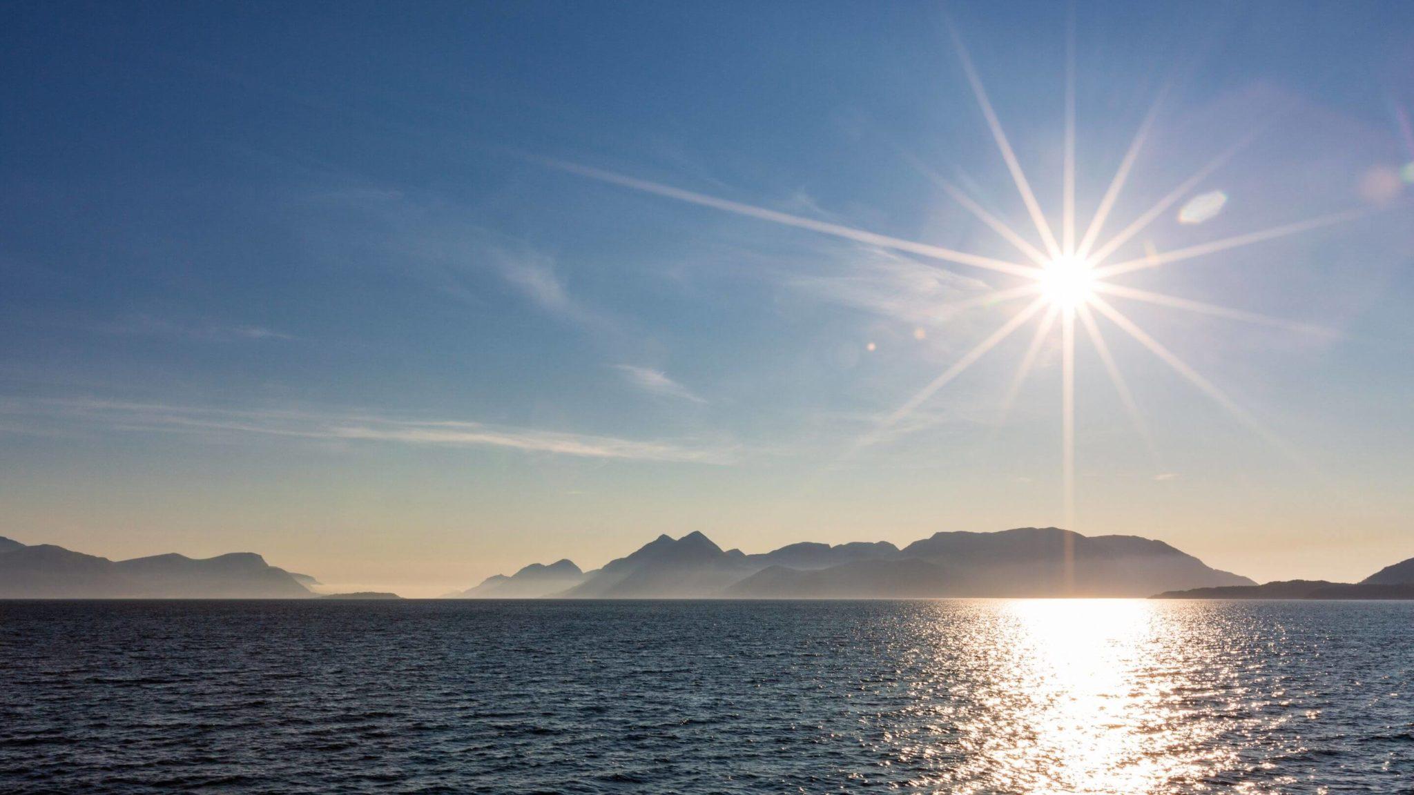 pogoda w Norwegii