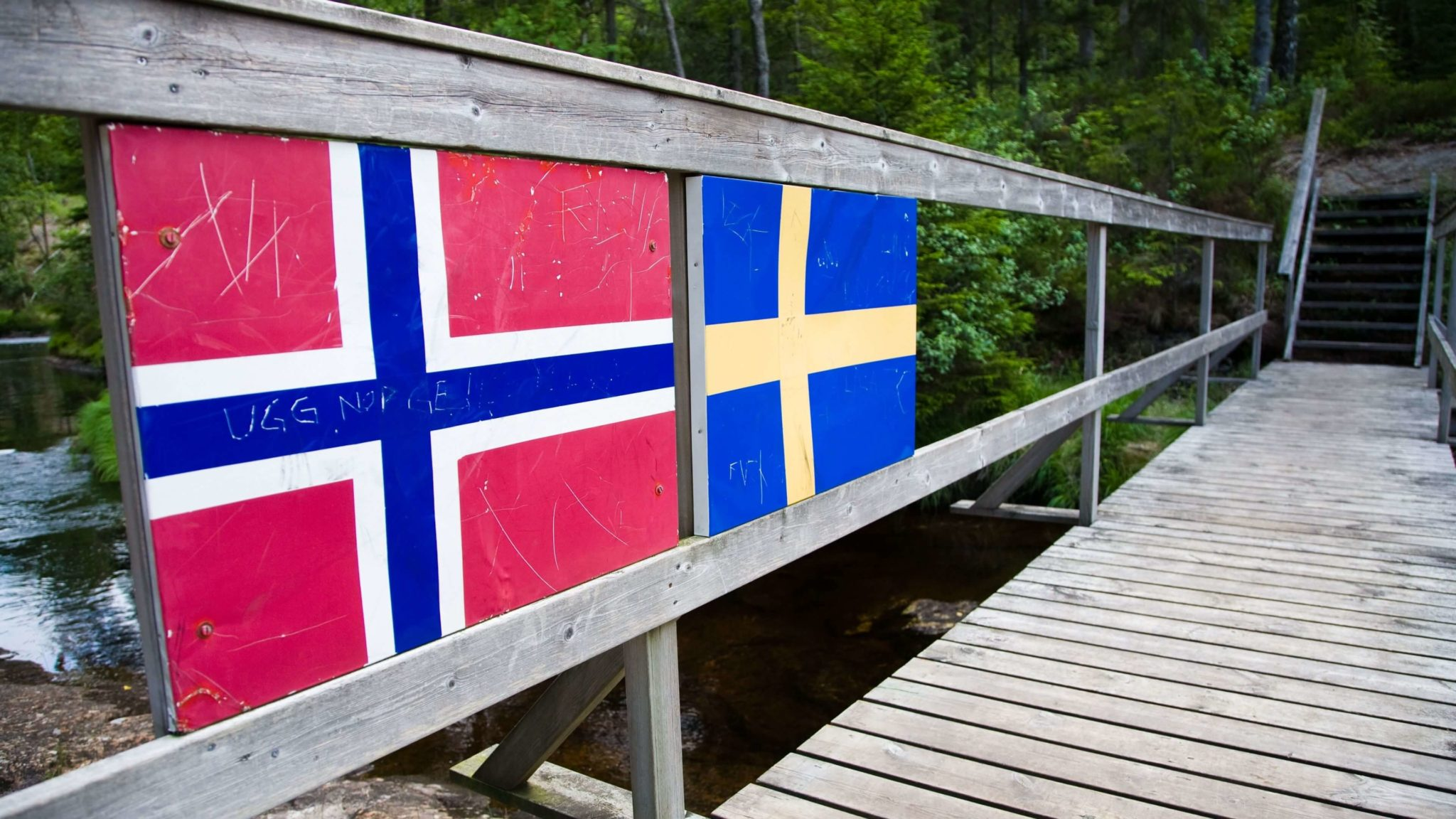 granica Norwegii