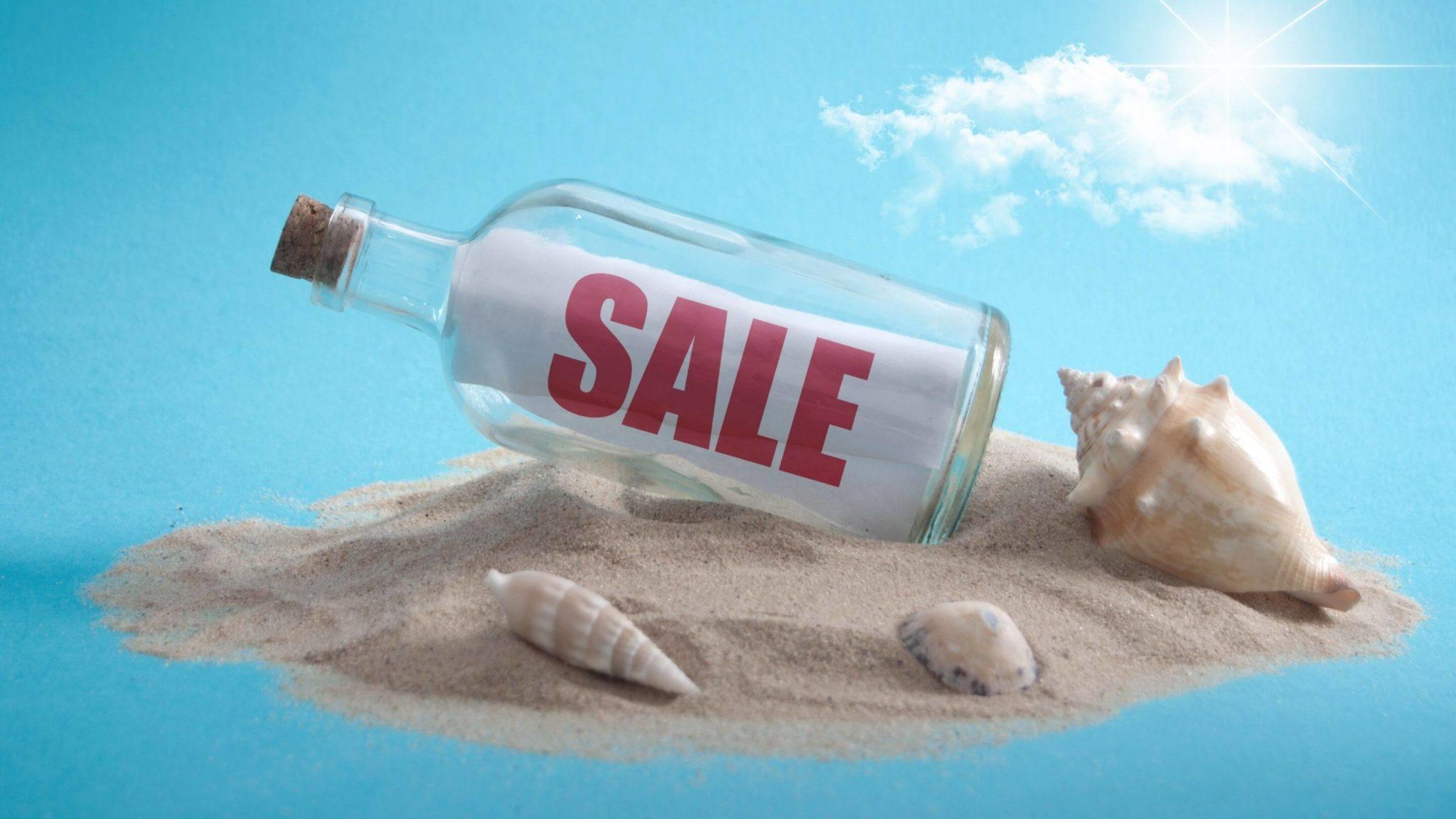 wyspa na sprzedaż
