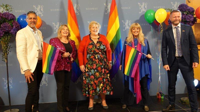 norweski rząd wspiera LGBT