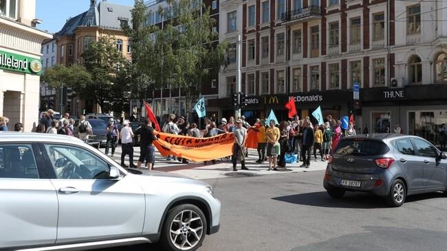 Protesty Extinction Rebellion Norway