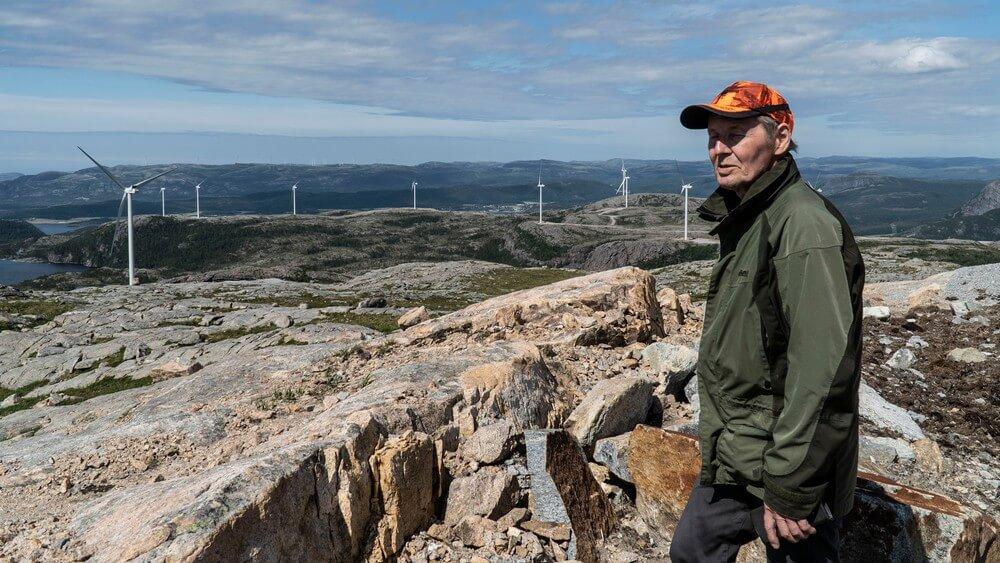 elektrownie wiatrowe i Samowie